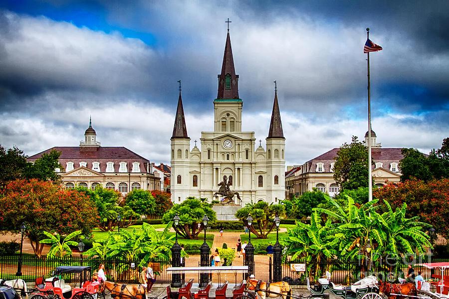 Jackson Square New Orleans Photograph by Jarrod Erbe