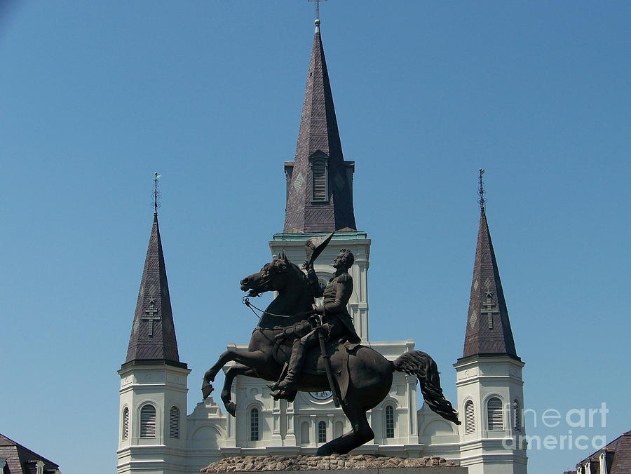 Jackson Square Photograph - Jackson Square Salute by Kevin Croitz