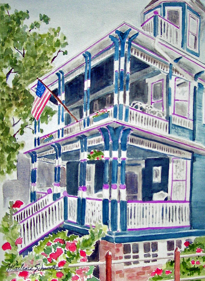 Jackson Street Inn of Cape May by Marlene Schwartz Massey
