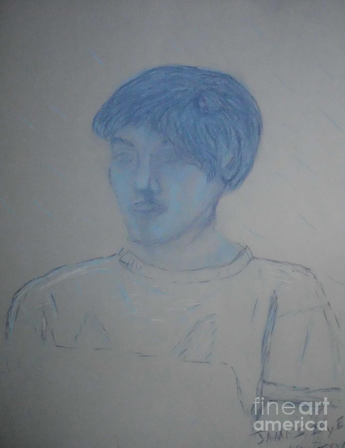 Sketch Drawing - Jacob Stewart by James Eye