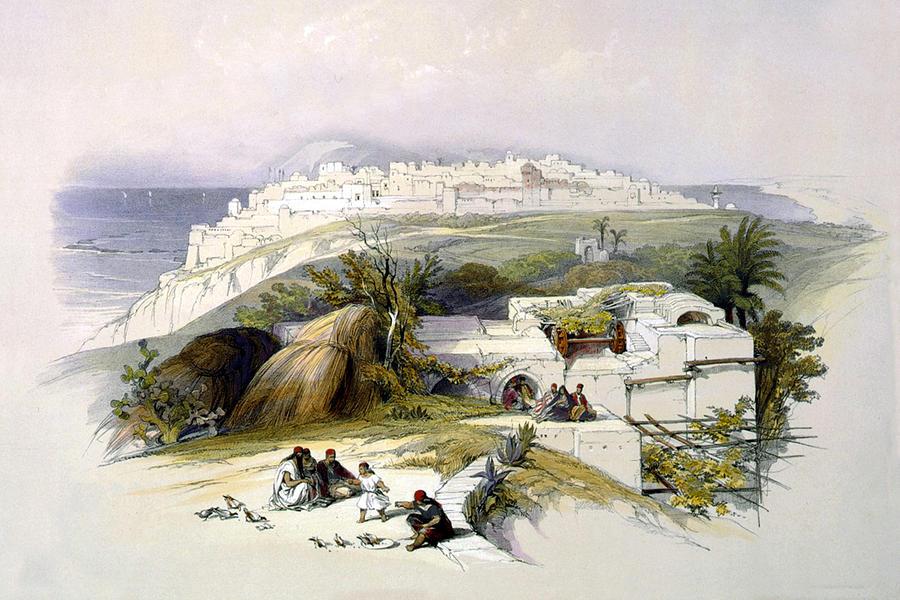 Jaffa Photograph - Jaffa 1839 by Munir Alawi