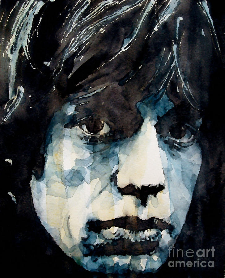 Mick Jagger Painting - Jagger No3 by Paul Lovering