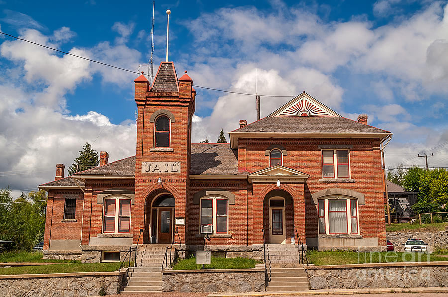 Montana Photograph - Jail Built In 1896 by Sue Smith