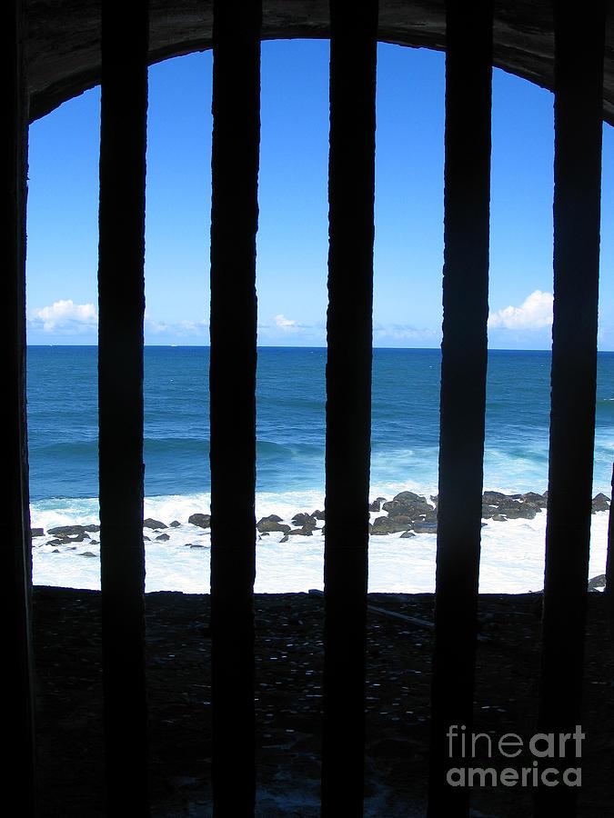 Jail View San Juan Puerto Rico by Jason O Watson