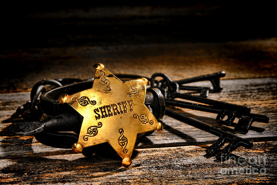Sheriff Photograph - Jailer Tools by Olivier Le Queinec