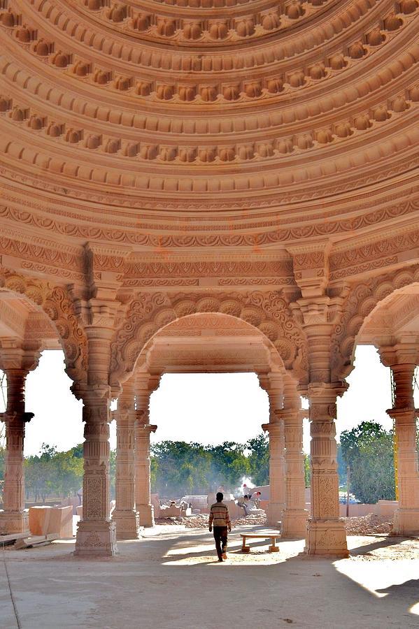 Jain Photograph - Jain Temple Entrance - Amarkantak India by Kim Bemis