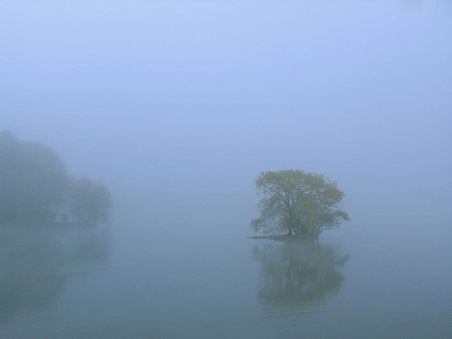 Boston Photograph - Jamaica Pond by Juergen Roth