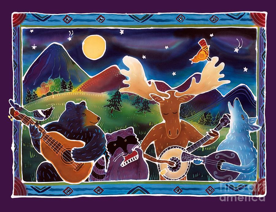 Music Painting - Jamboree by Harriet Peck Taylor