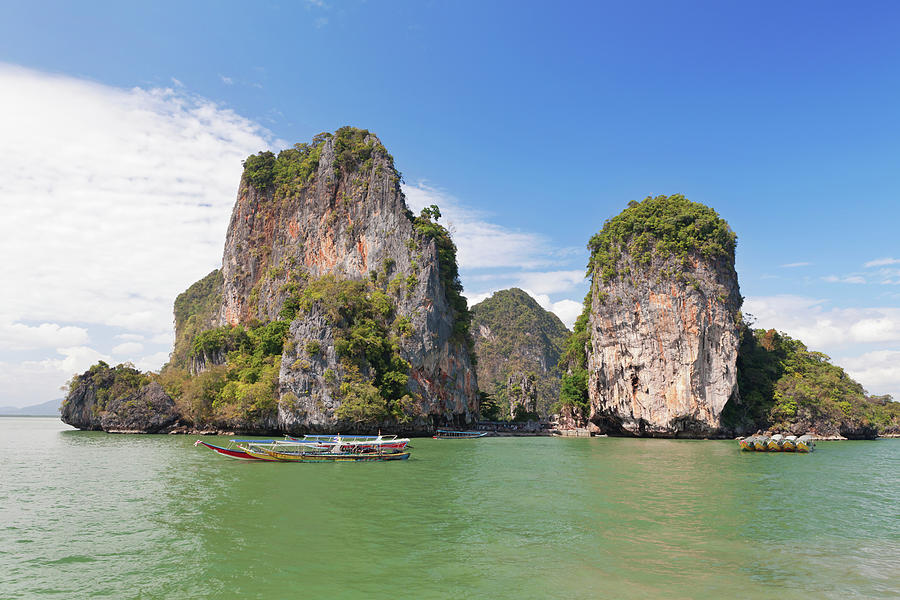 James Bond Island In Phuket Thailand Photograph by Justhappy