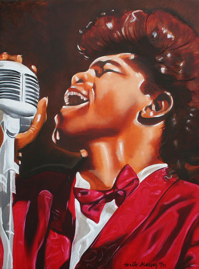 James Brown King Of Soul Painting By Belle Massey