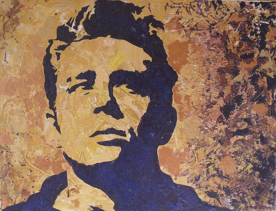 Jimmy Dean Painting - James Dean by David Shannon