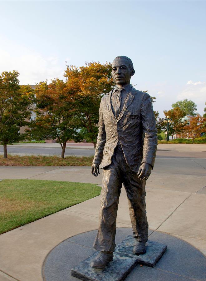 James Meredith Statue Closeup by Joshua House