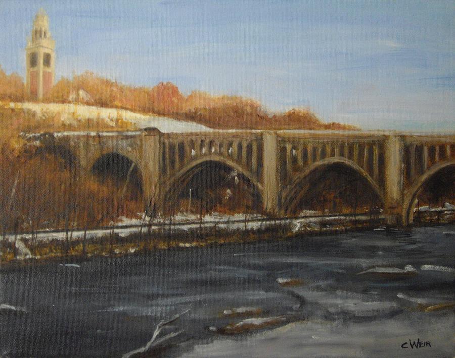James River Train Trestle Richmond Va