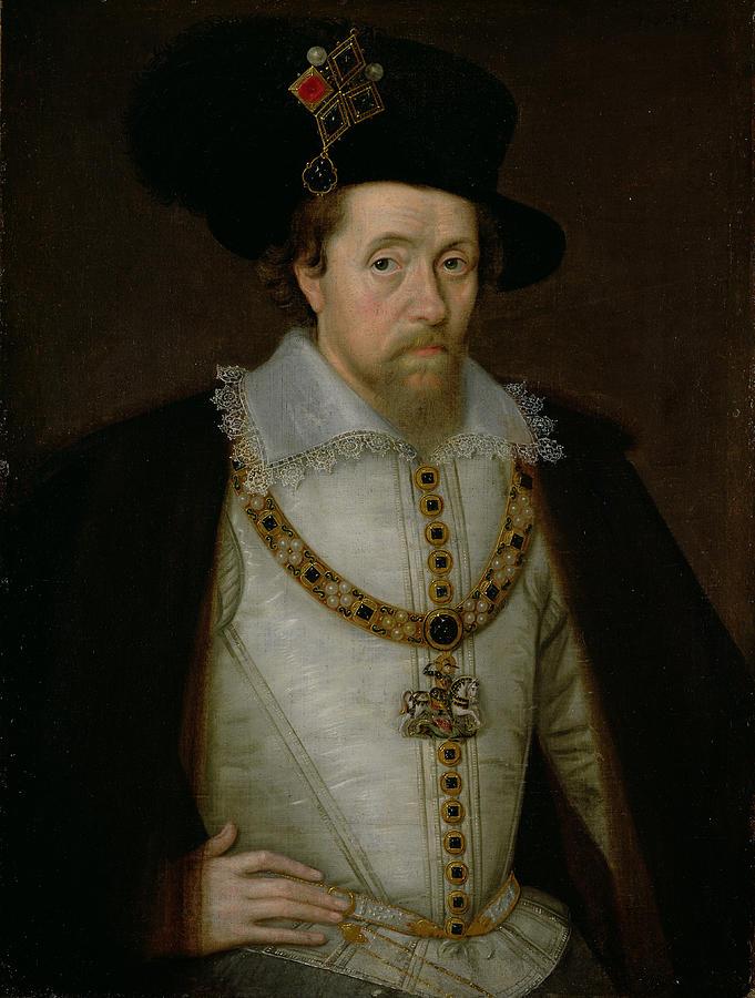 NPG D11516; King James I of England and VI of Scotland