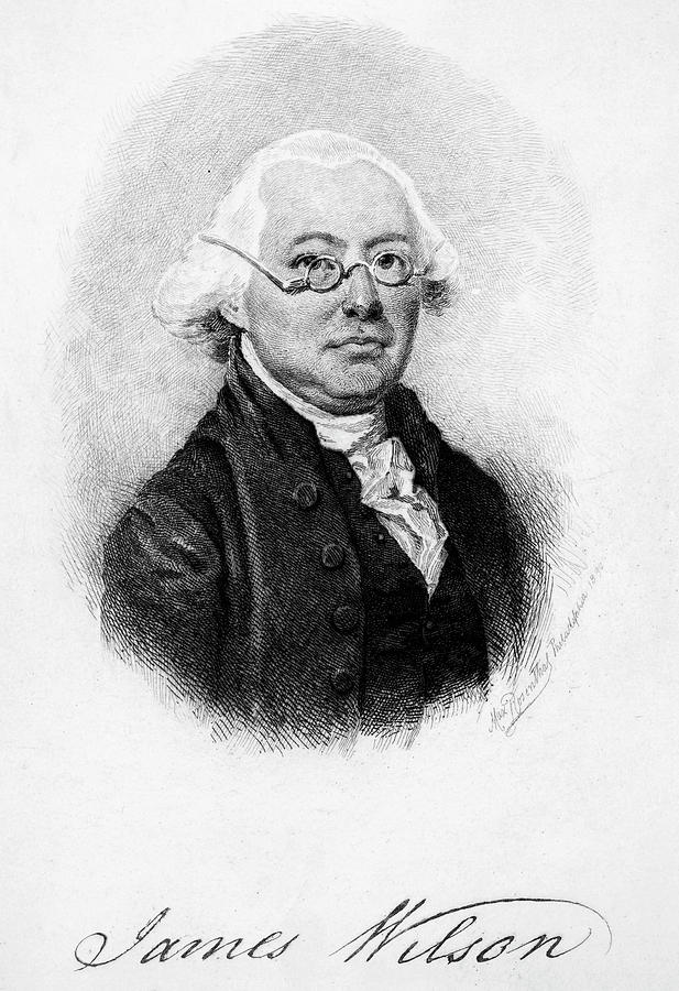 18th Century Painting - James Wilson (1742-1798) by Granger