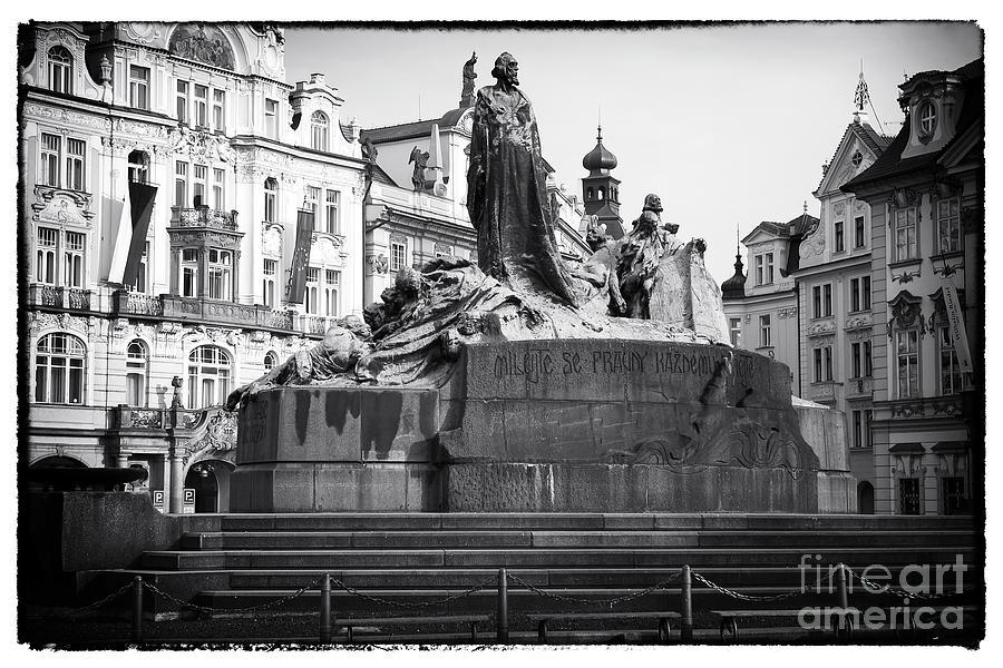 Jan Hus Photograph - Jan Hus by John Rizzuto