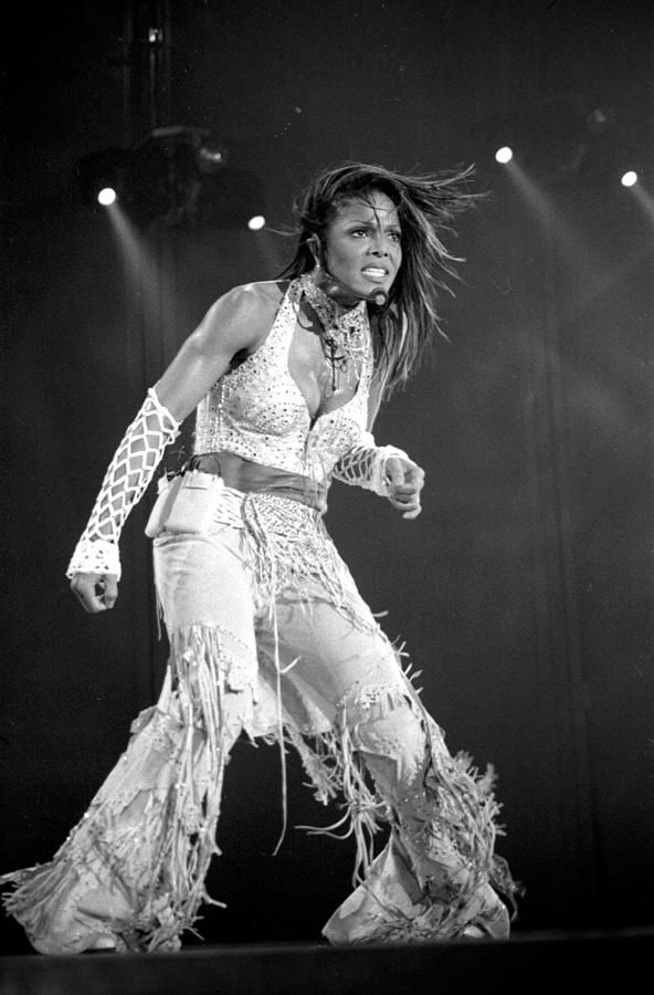 Janet Jackson Photograph - Janet 054 by Timothy Bischoff