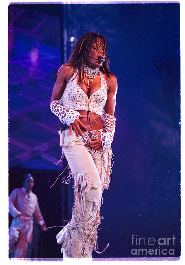 Janet Jackson Photograph - Janet Jackson-01 by Timothy Bischoff
