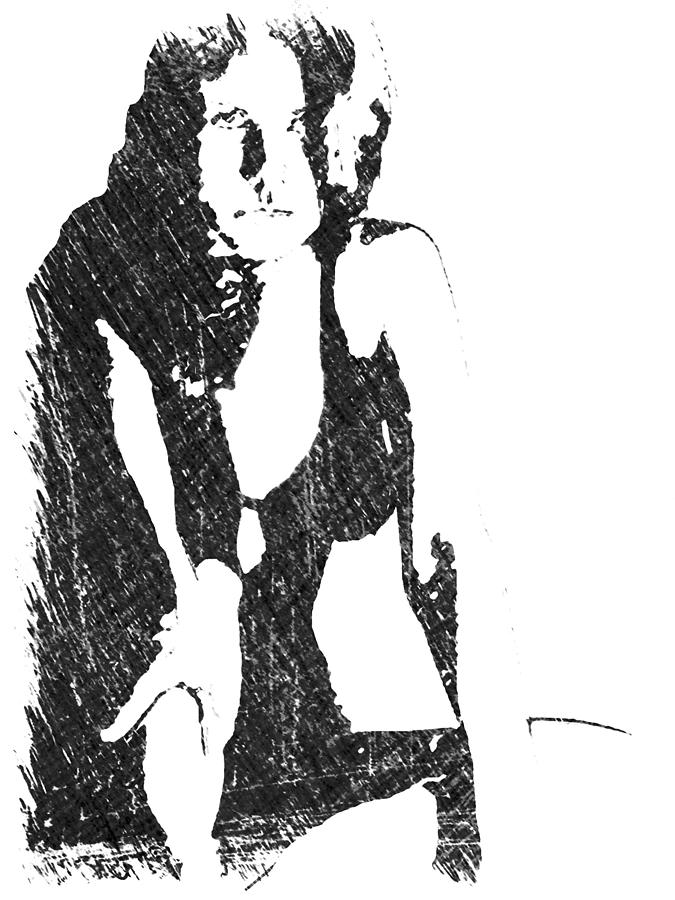 Janet Drawing by Michael Pittas