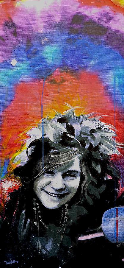 Janis Joplin Painting - Janis by dreXeL