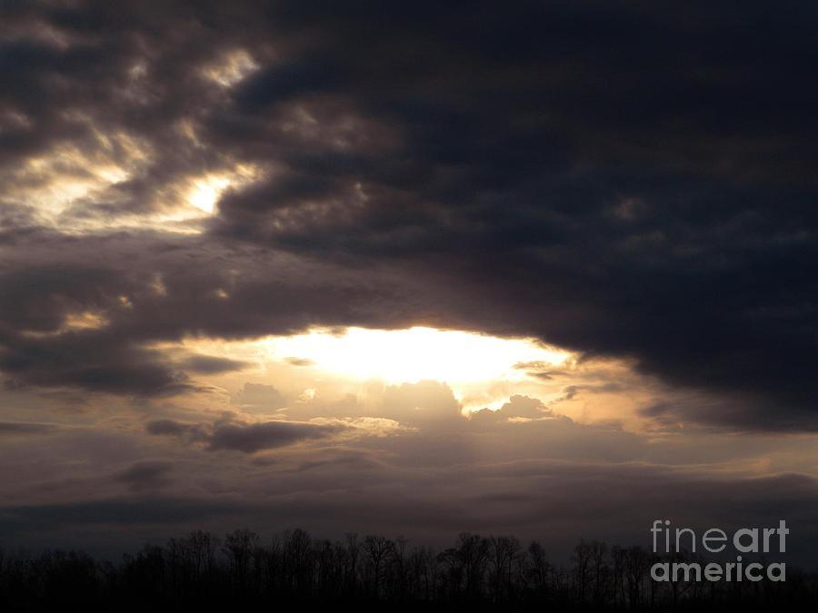 Clouds Digital Art - Heaven Is For Real by Matthew Seufer