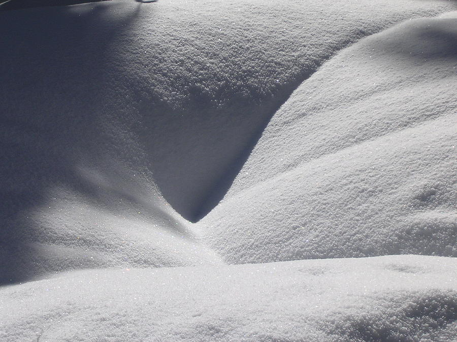 Lake Valhalla Photograph - January Folds by Tom Trimbath