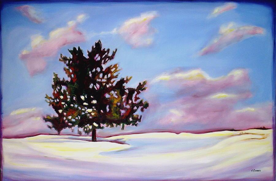 January Painting - January by Sheila Diemert