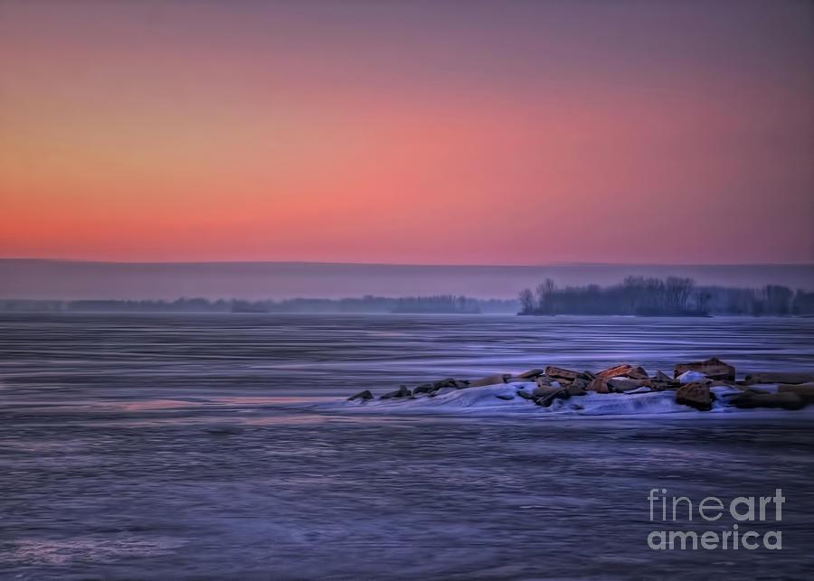 January Sunrise by Pamela Baker