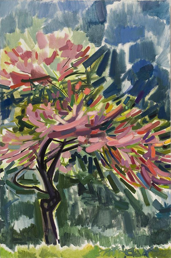 Tree Painting - Japanese Cherry Tree by Dena Lyons