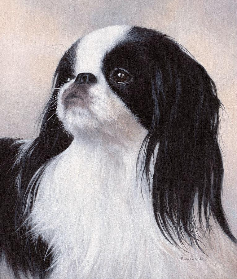 Japanese Chin Painting - Japanese Chin Painting by Rachel Stribbling