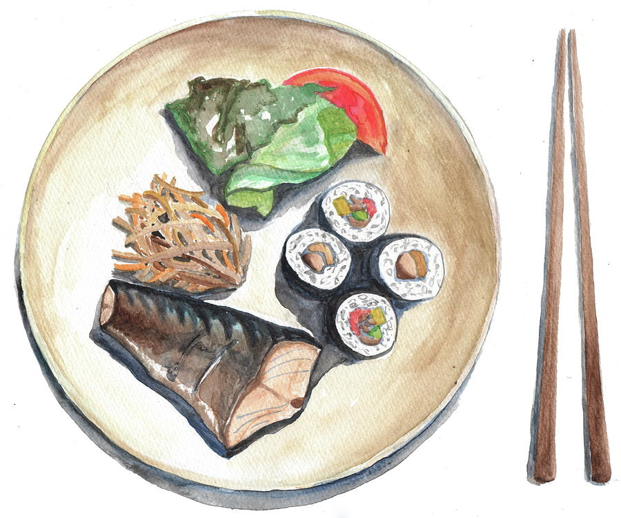 Japanese Food Photograph by Kana hata