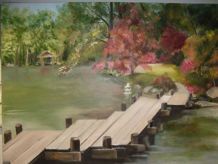 Japanese Garden Maymount by Janet Visser