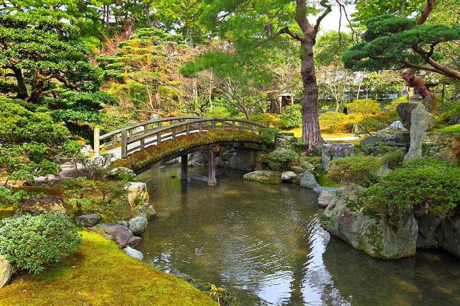 Japanese Garden Photograph by Ngkaki