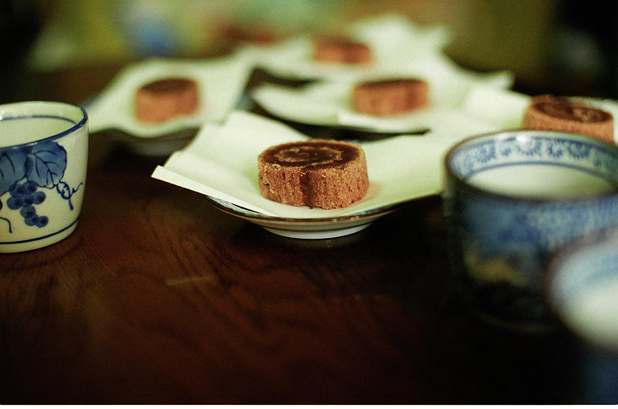 Japanese Sweets And Japanese Tea Photograph by Photographer, Loves Art, Lives In Kyoto