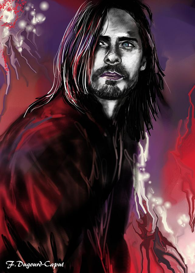 Portrait Painting - Jared by Francoise Dugourd-Caput
