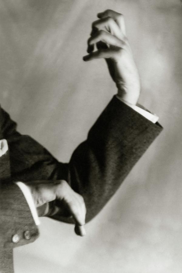 Jascha Heifetz Hands Photograph by Francis Bruguiere