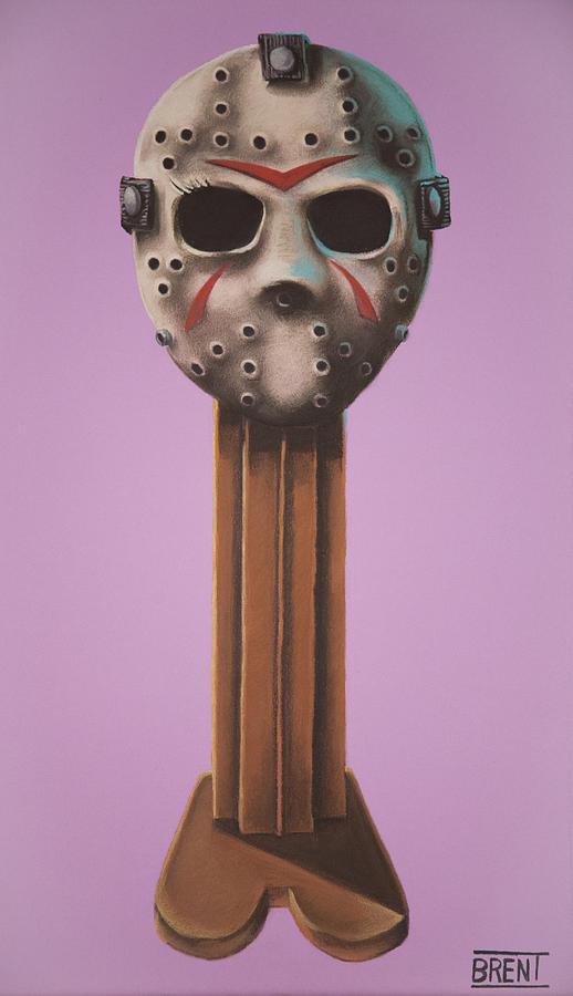 Jason Vorhees Pastel - Jason Vorhees by Brent Andrew Doty