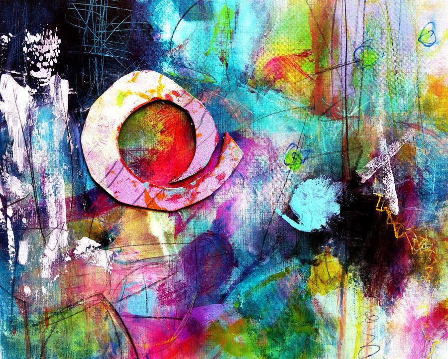 Katie Black Painting - Jaunt by Katie Black
