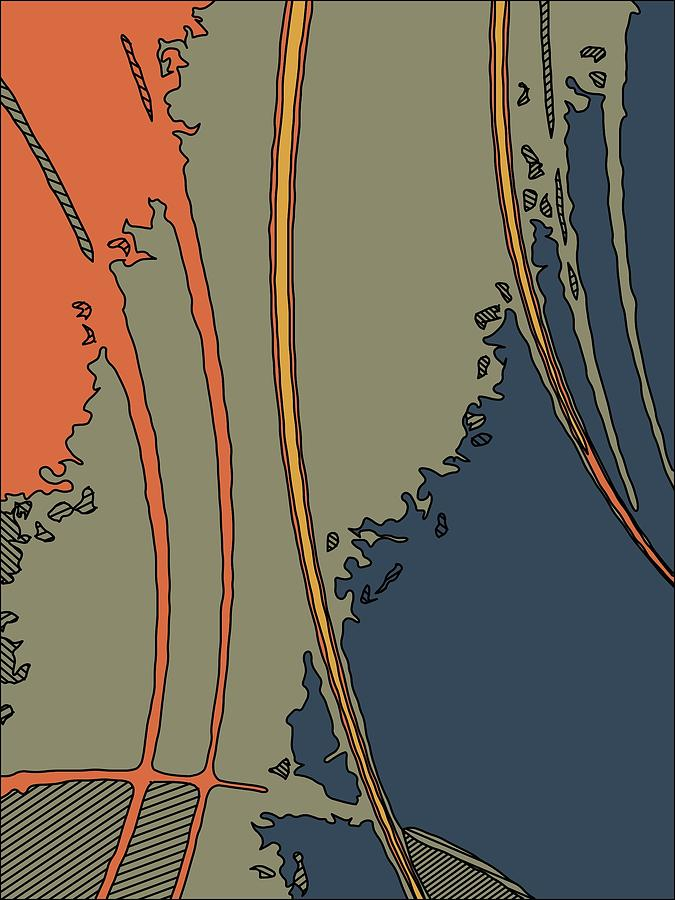 Abstract Pyrography - Java-i by Charles Rayburn
