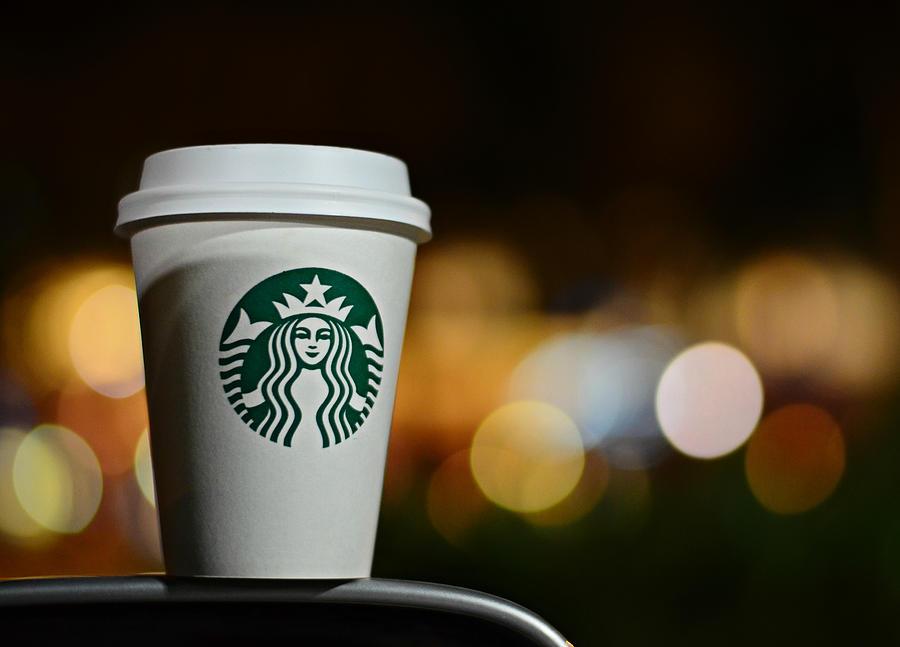 Starbucks Coffee Photograph - Java by Laura Fasulo