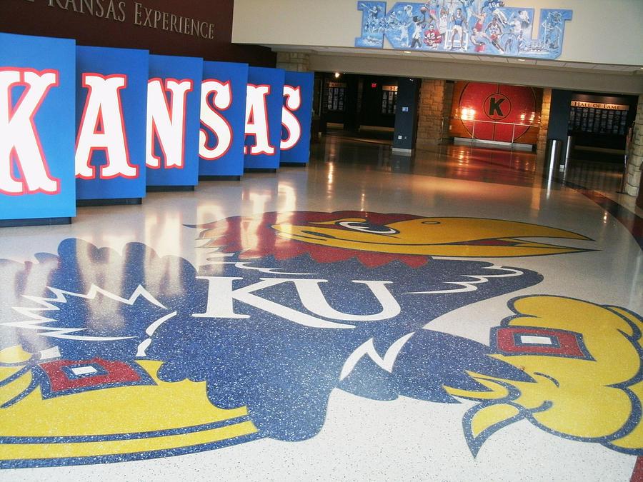 Kansas Photograph - Jayhawk Pride by Paul Ganser
