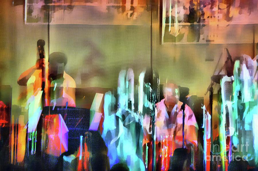 Jazz Photograph - Jazz Band by Jeff Breiman