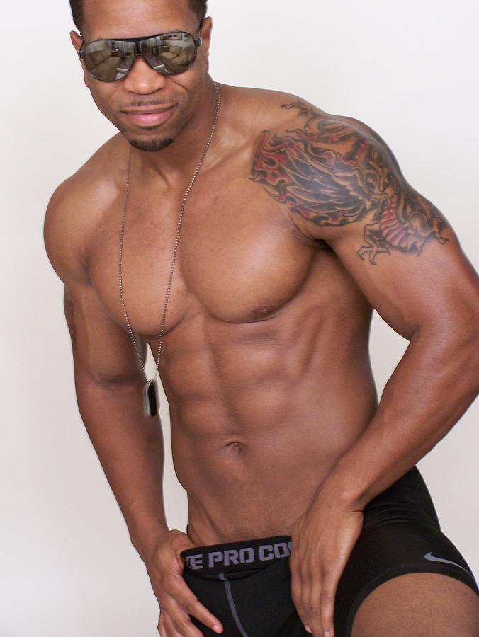 Muscle Photograph - Jazz   Male Muscle Art Joe Cool by Jake Hartz