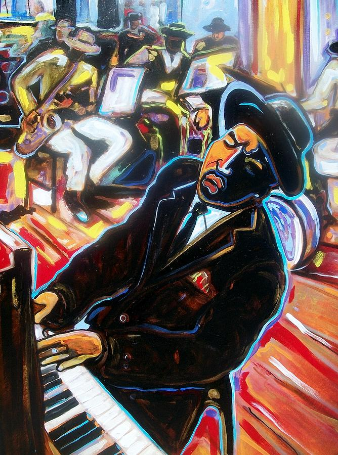 Emery Painting - Jazz Man by Emery Franklin