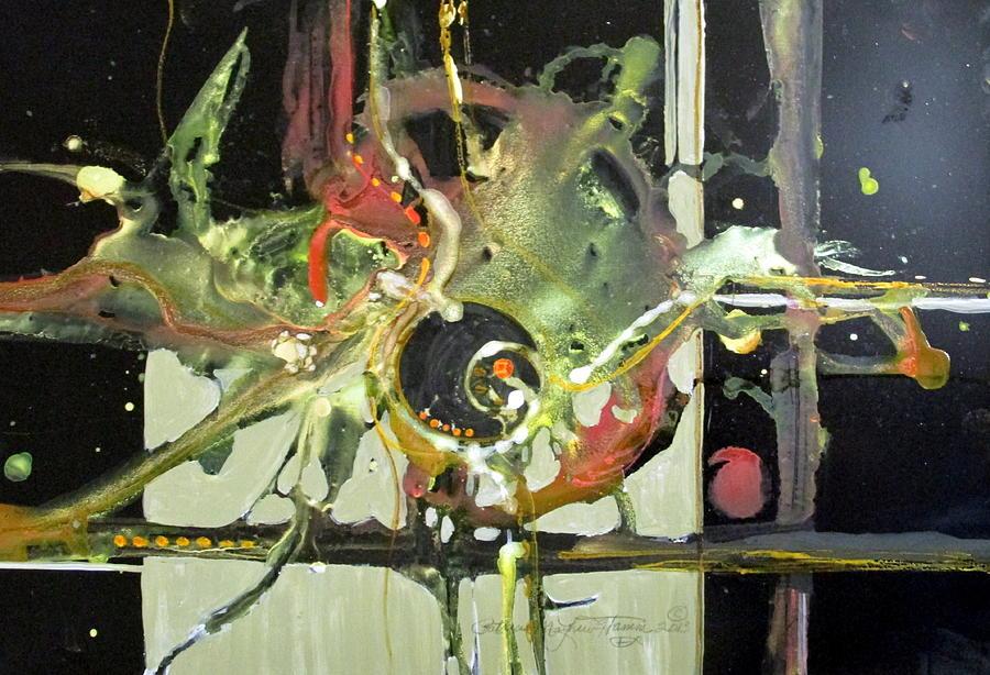 Colorful Painting - Jazz Rhythms by Patricia Mayhew Hamm