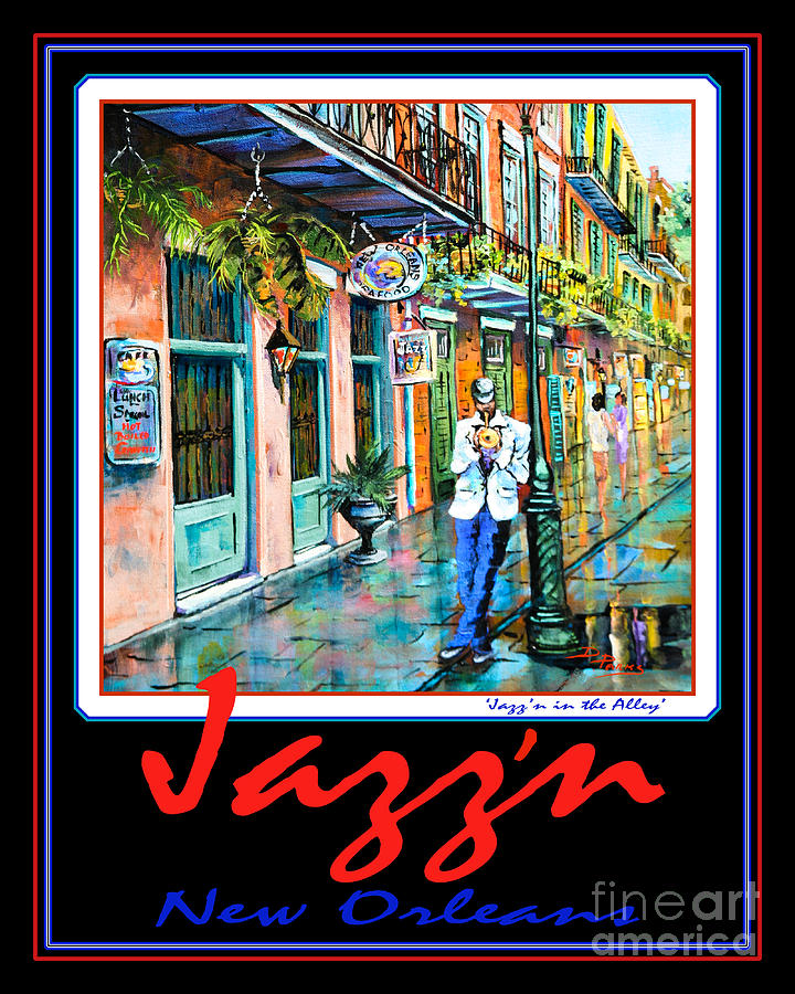 French Quarter Painting - Jazzn New Orleans by Dianne Parks