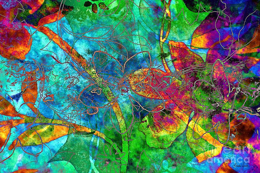Jazzy Digital Art - Jazzy by Darla Wood