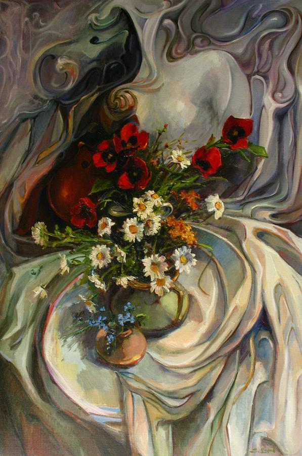 Mother's Day Painting - Jazzy Still-life by Tigran Ghulyan
