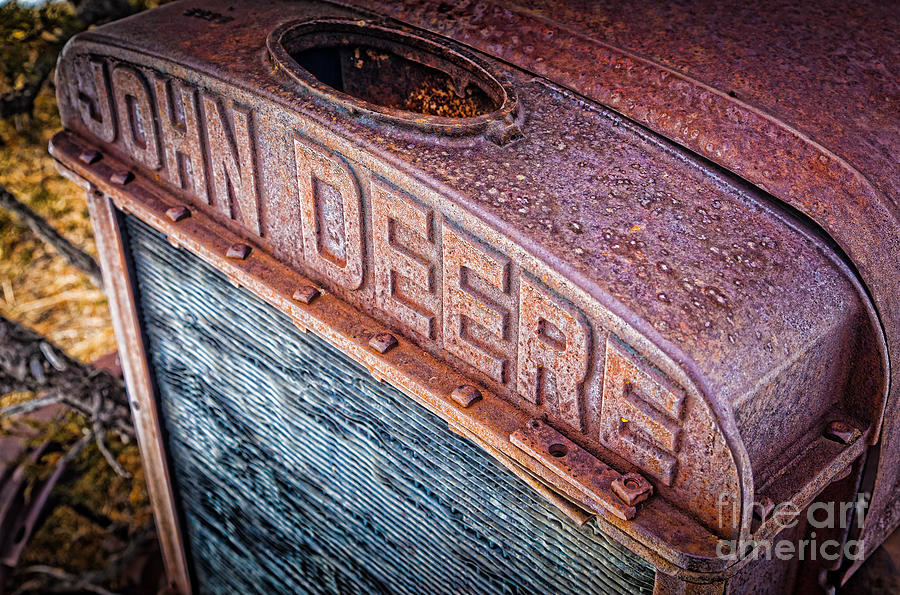 America Photograph - Jd Grille by Inge Johnsson