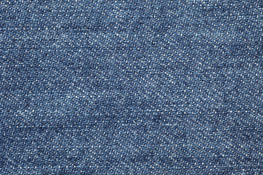 Jeans Texture Photograph by Andrew Dernie